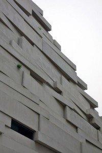immeuble à façade végétalisée et nichoirs de Boulogne Billancourt